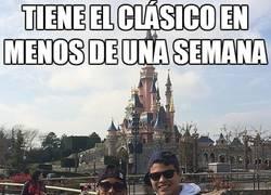 Enlace a La preparación de Neymar para el clásico
