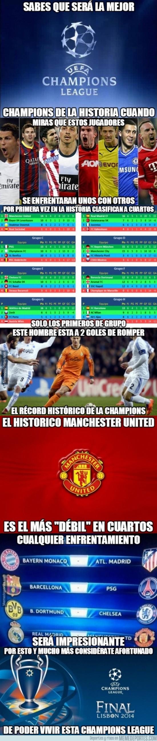 285634 - Bienvenidos a la mejor Champions League de la historia