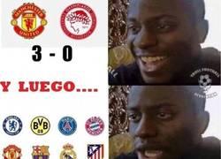 Enlace a Los fans del United después del partido
