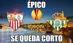 Enlace a Busca épico en Google y te aparece este Betis - Sevilla