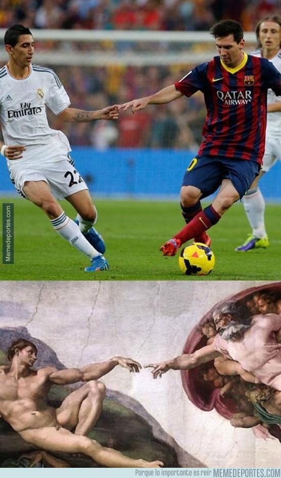 285910 - Parecidos razonables con Di María y Messi
