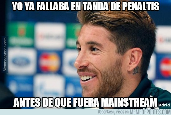 285928 - Ramos ya fallaba en tanda de penaltis