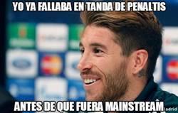 Enlace a Ramos ya fallaba en tanda de penaltis