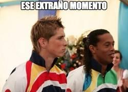 Enlace a Ronaldinho vs Fernando Torres
