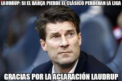 Enlace a Michael Laudrup, el Captain Obvious