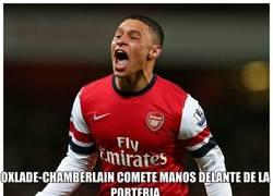 Enlace a Gran Inyusticia en el Chelsea-Arsenal