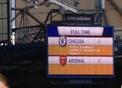 Enlace a El selfie del Arsenal en el partido contra el Chelsea