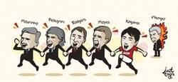 Enlace a Todos en la Premier están felices hoy menos Wenger