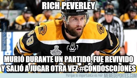286707 - Rich Peverley, historia insólita en el hockey