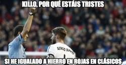 Enlace a Sergio Ramos y su récord en el clásico