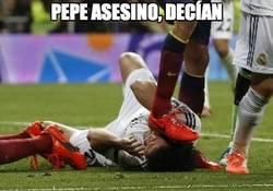 Enlace a Pepe asesino, decían