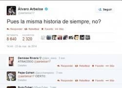 Enlace a Alvaro Arbeloa, resentido desfogándose en Twitter