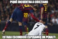 Enlace a Piqué encuentra a Cristiano