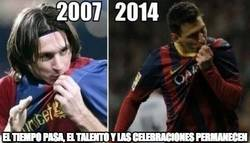 Enlace a Messi 2007 - 2014