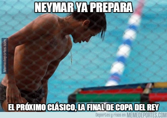 287956 - Tras el clásico, Neymar ya se está entrenando otra vez