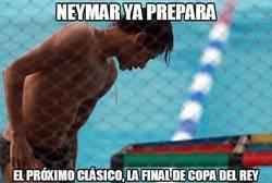 Enlace a Tras el clásico, Neymar ya se está entrenando otra vez