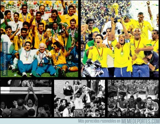 288045 - 3 de los 5 mundiales de Brasil también fueron en blanco y negro