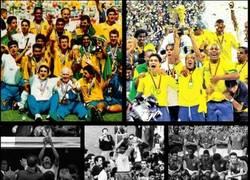 Enlace a 3 de los 5 mundiales de Brasil también fueron en blanco y negro