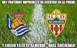 Enlace a Almería - Real Sociedad, ¡¡¡4-3!!!