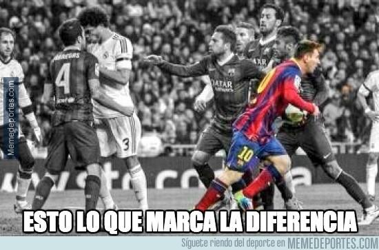 288478 - Todos discutiendo, Messi sólo pensando en el partido