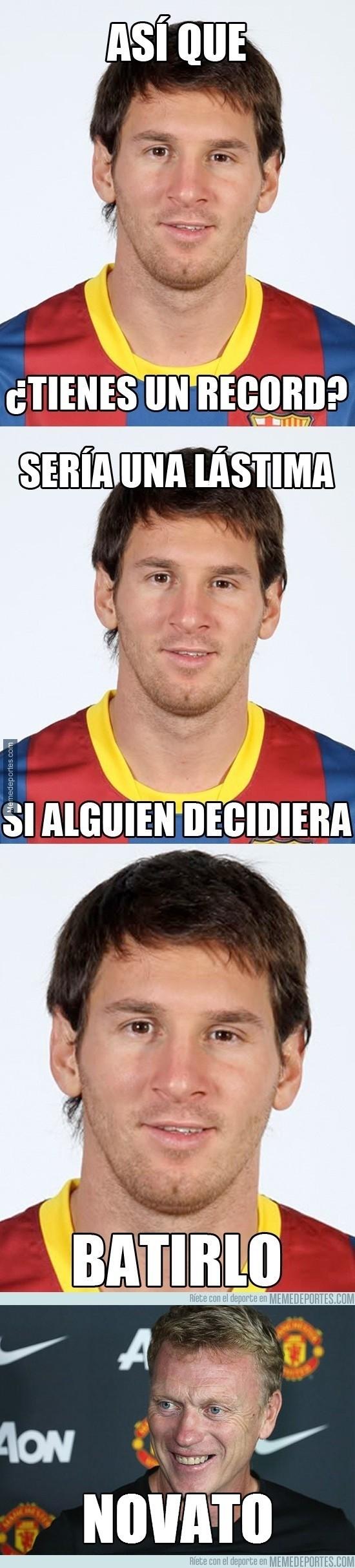 288529 - ¿Quién hará más records a final de temporada? ¿Messi o Moyes?