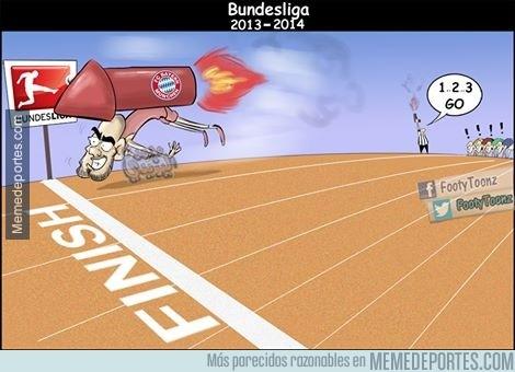 288537 - El Bayern en la Bundesliga, descripción gráfica