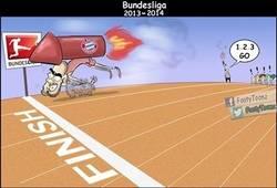 Enlace a El Bayern en la Bundesliga, descripción gráfica