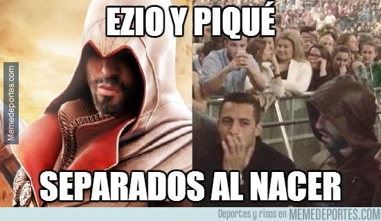 288600 - Ezio y Piqué, separados al nacer