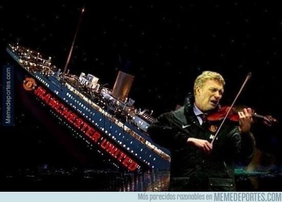 288614 - El United se hunde y Moyes acude a tocar el violín. Tócame la última, David