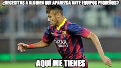 Enlace a Confirmado, Neymar sólo aparece ante los modestos de momento
