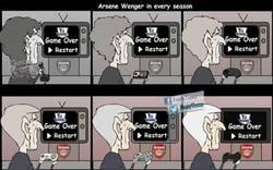 Enlace a La historia de Wenger cada año