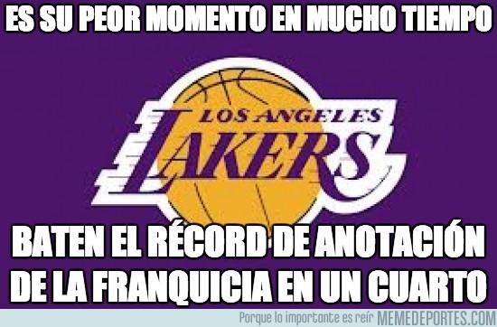 288904 - Record histórico de puntos de Los Lakers en un cuarto