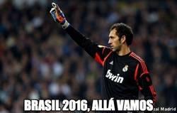 Enlace a Diego López, oportunidad de oro para ir al Mundial