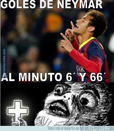 288939 - Casualidades escalofriantes en los goles de Neymar