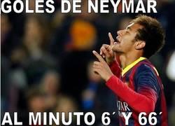Enlace a Casualidades escalofriantes en los goles de Neymar