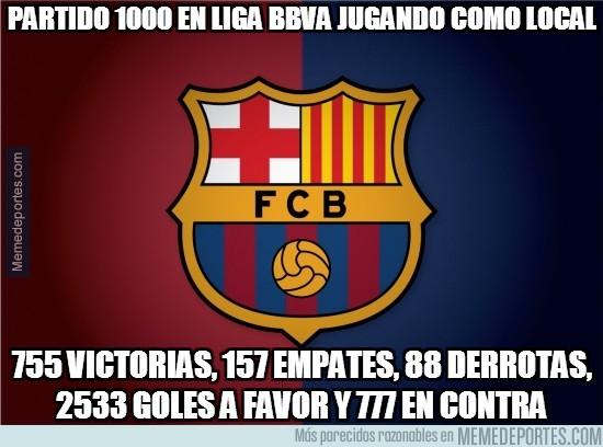 288957 - Partido 1000 en Liga BBVA jugando como local