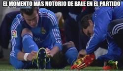 Enlace a El momento más notorio de Bale en el partido