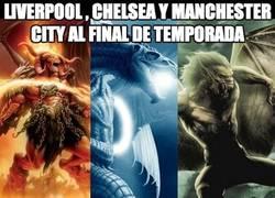 Enlace a Final de temporada en la Premier League