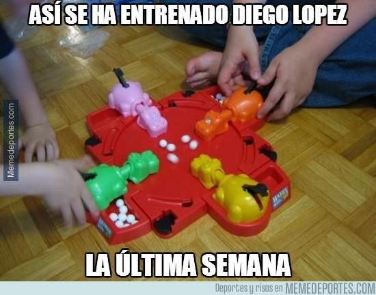 289419 - Así se ha entrenado Diego López la última semana
