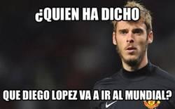 Enlace a ¿De Gea o Diego López?