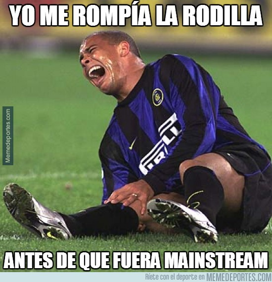 289811 - Ronaldo ya se rompía la rodilla antes