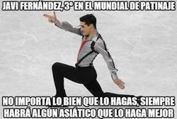 Enlace a Javi Fernández, 3º en el mundial de patinaje