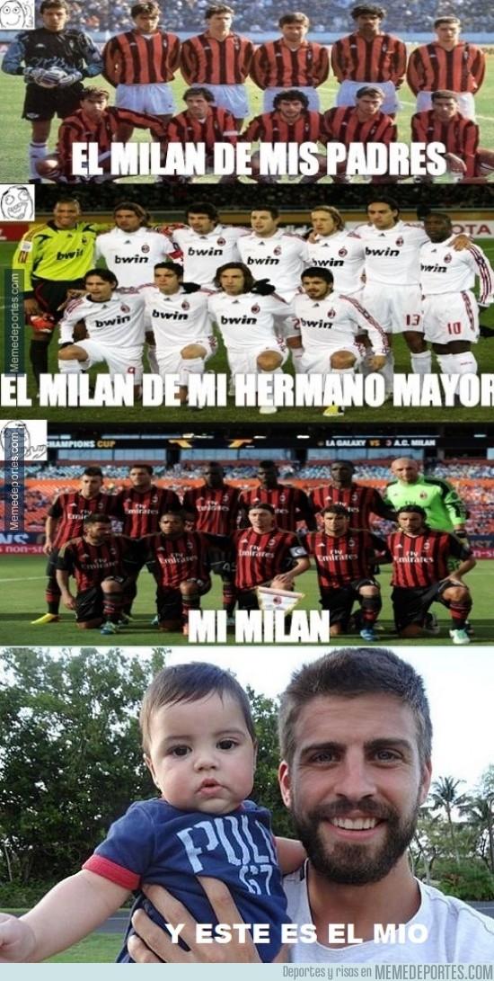 289850 - Nos habíamos dejado el Milan de Piqué