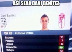 Enlace a Dani Benítez en el próximo FIFA