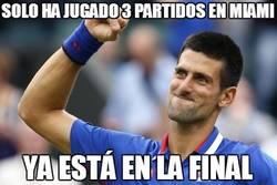 Enlace a Djokovic, 3 partidos y a la final de Miami