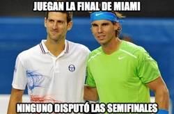 Enlace a Nadal y Djokovic juegan la final de Miami