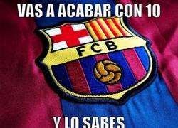 Enlace a Si juegas contra el Barça, ya lo sabes