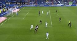 Enlace a GIF: Ojo al golazo de Morata por toda la escuadra