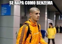 Enlace a Se rapa como Benzema