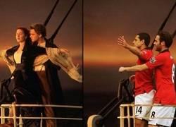 Enlace a Mata y Chicharito marcándose un Titanic, esto se hunde